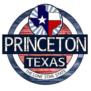 Princeton Texas rustic wood circle by artisticattitud