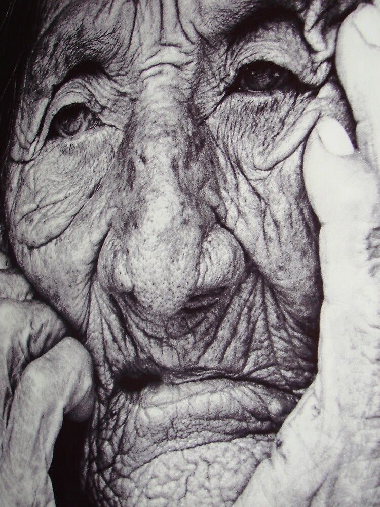 Old Lady by Muddasar Khan