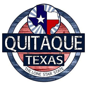 Quitaque Texas rustic wood circle by artisticattitud