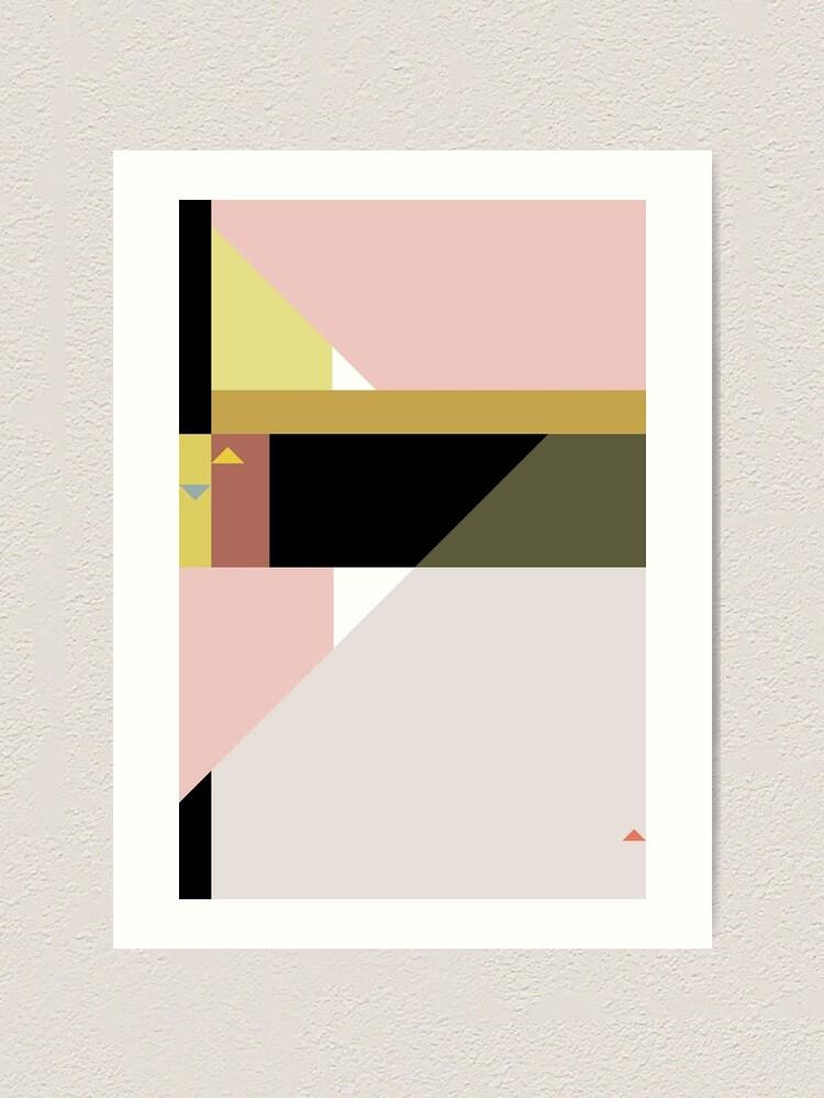Alternate view of Constructivist Tune n° 3 Art Print