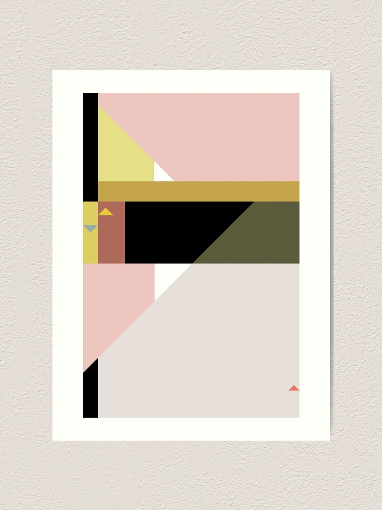 Alternate view of Constructivist Tune n° 3 Art Print