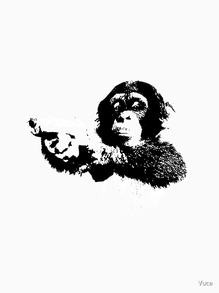 Monkey Gun Black by Vuce