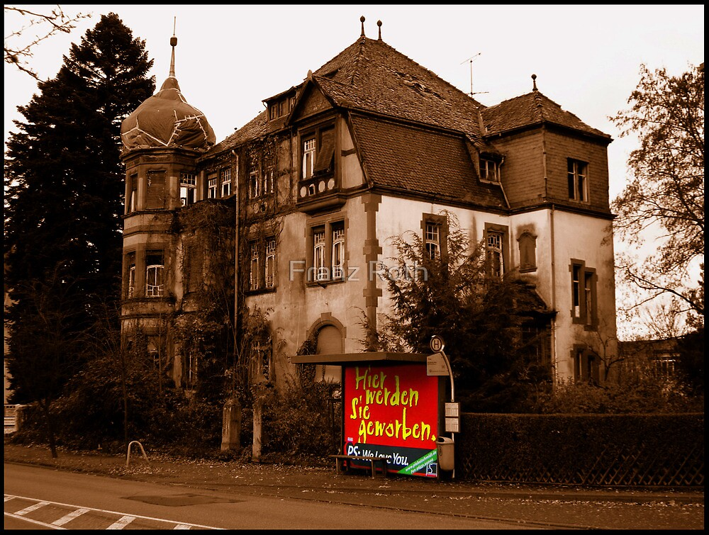 The Villa Loeser in Pirmasens by Franz Roth