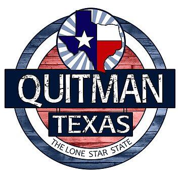 Quitman Texas rustic wood circle by artisticattitud