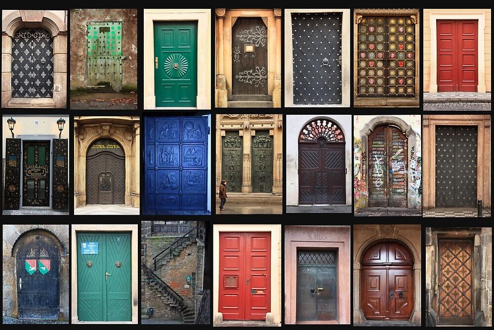 Prague Doors by peter S