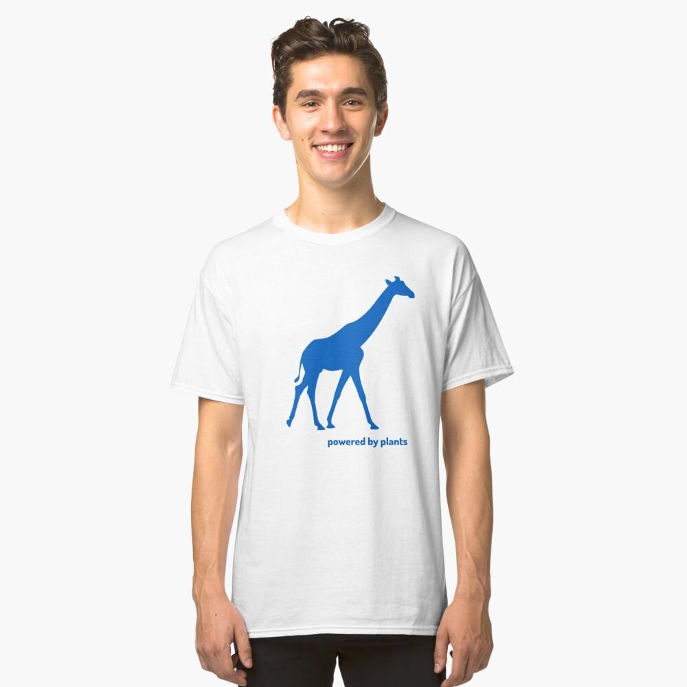 giraffe powered by plants Classic T-Shirt