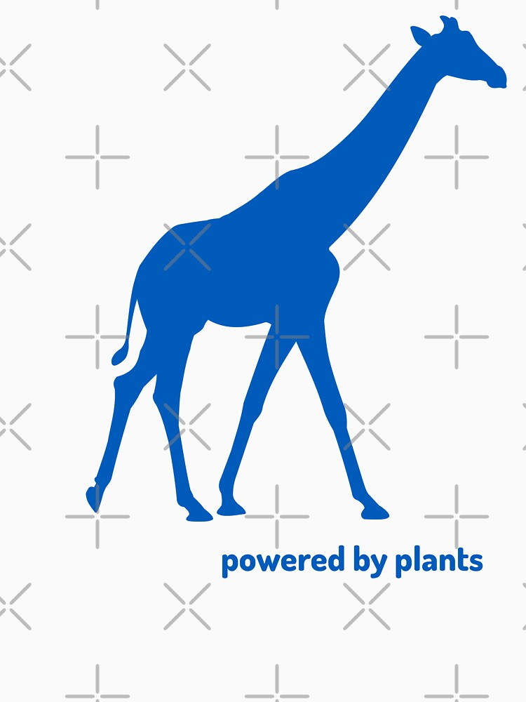 giraffe powered by plants by PlantVictorious