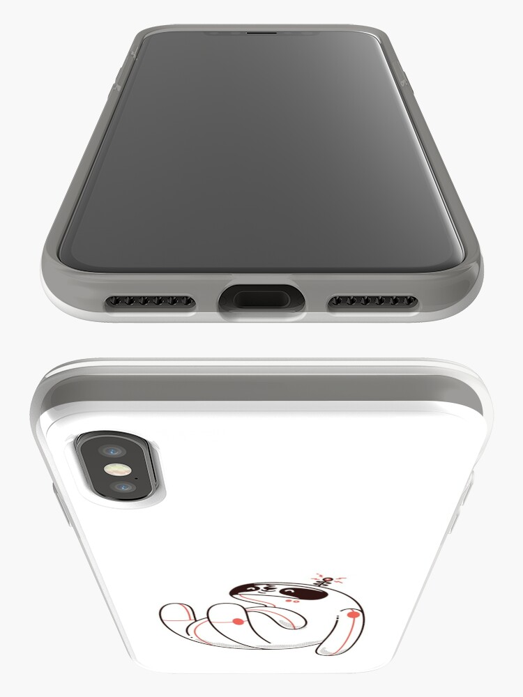 Alternate view of Lazy Space Sloth iPhone Case & Cover