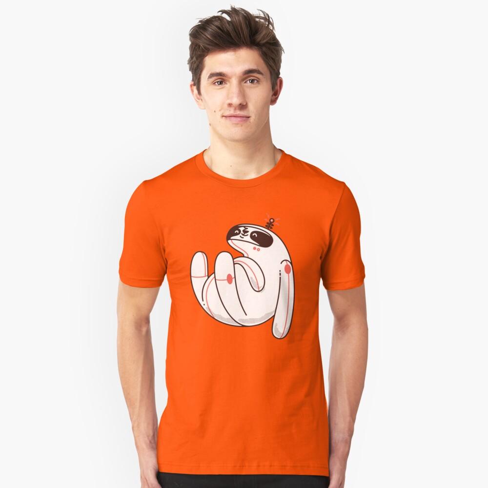 Faule Space Sloth Slim Fit T-Shirt