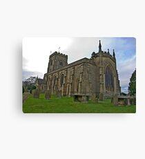 The Church East Witton. Canvas Print