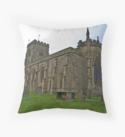 The Church East Witton. Throw Pillow