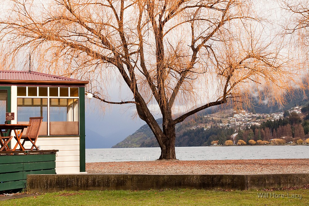 Lakeside cafe, Queenstown by Will Hore-Lacy