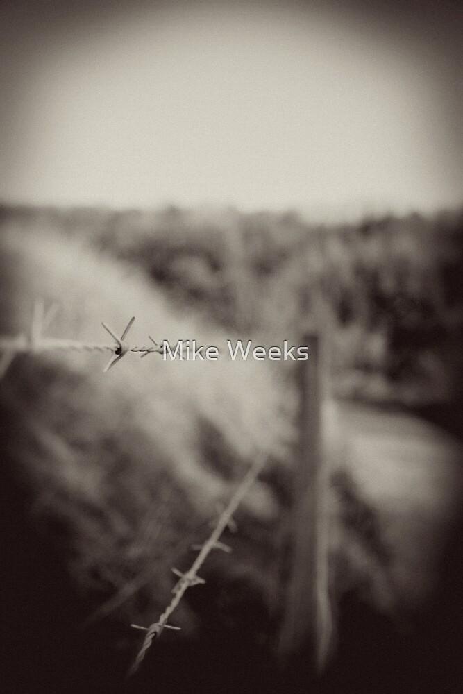 Barbed by Mike Weeks