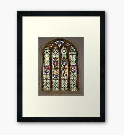 Window #1 East Witton Church Framed Print