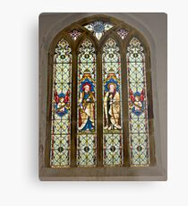 Window #1 East Witton Church Metal Print