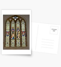 Window #1 East Witton Church Postcards