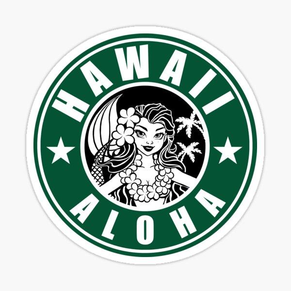 Hawaii Aloha Coffee Sticker