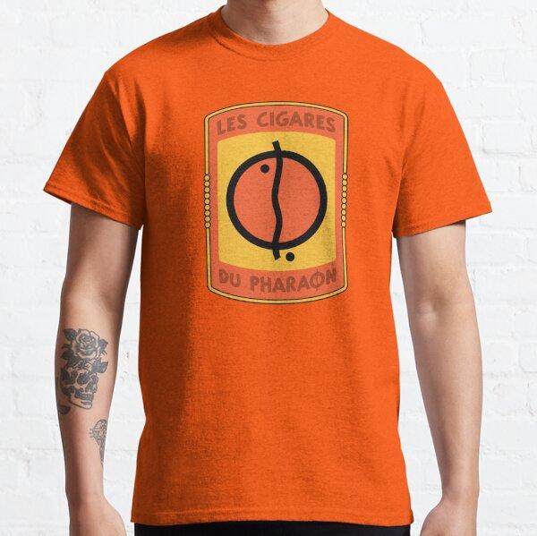 Los cigarros del logotipo del faraón Camiseta clásica