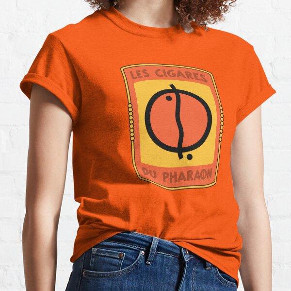 Logo des cigares du pharaon T-shirt classique