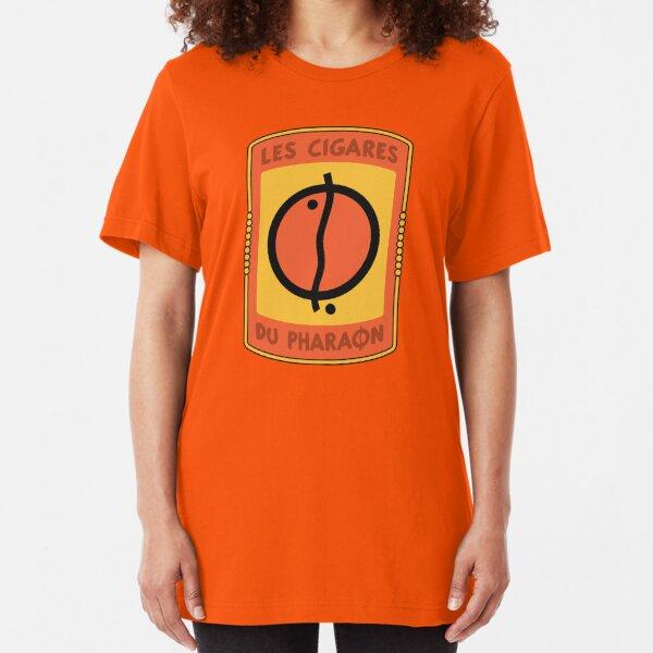 Tintin | The Cigars of the Pharaoh Logo Slim Fit T-Shirt