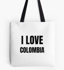 I Love Colombia Funny Gift Idea Tote bag