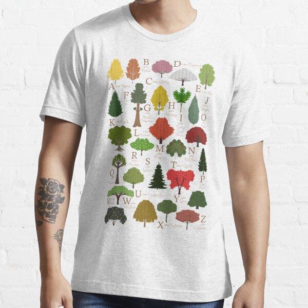 Trees Alphabet Shirt Essential T-Shirt
