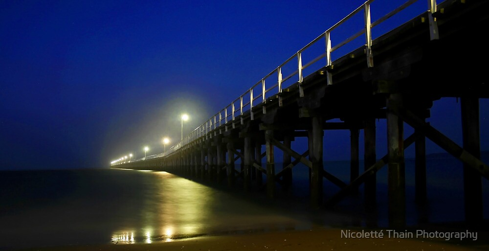Hervey Bay Pier by Nicoletté Thain Photography