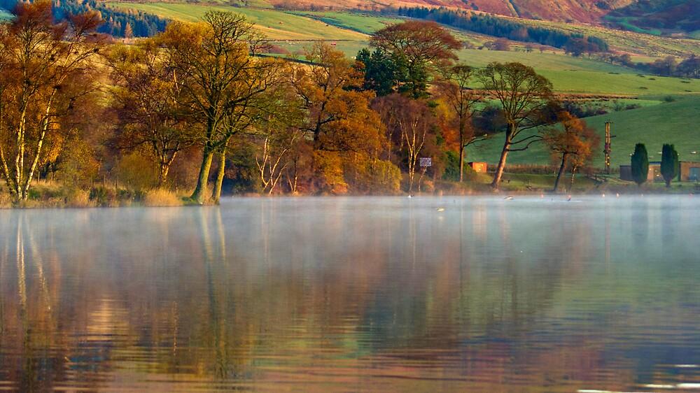 Misty Antermony Loch by Colstie
