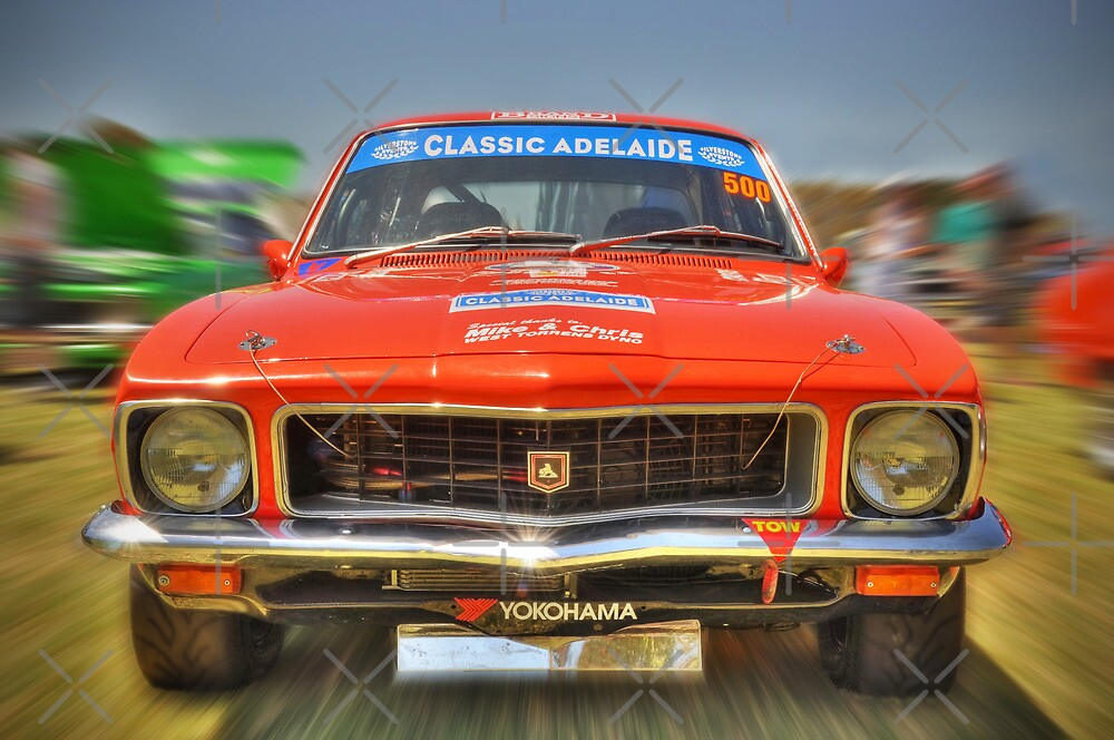 Racing Tangerine LJ XU-1 Torana by Clintpix