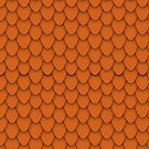 Orange Dragon Scales by Charley Zollinger