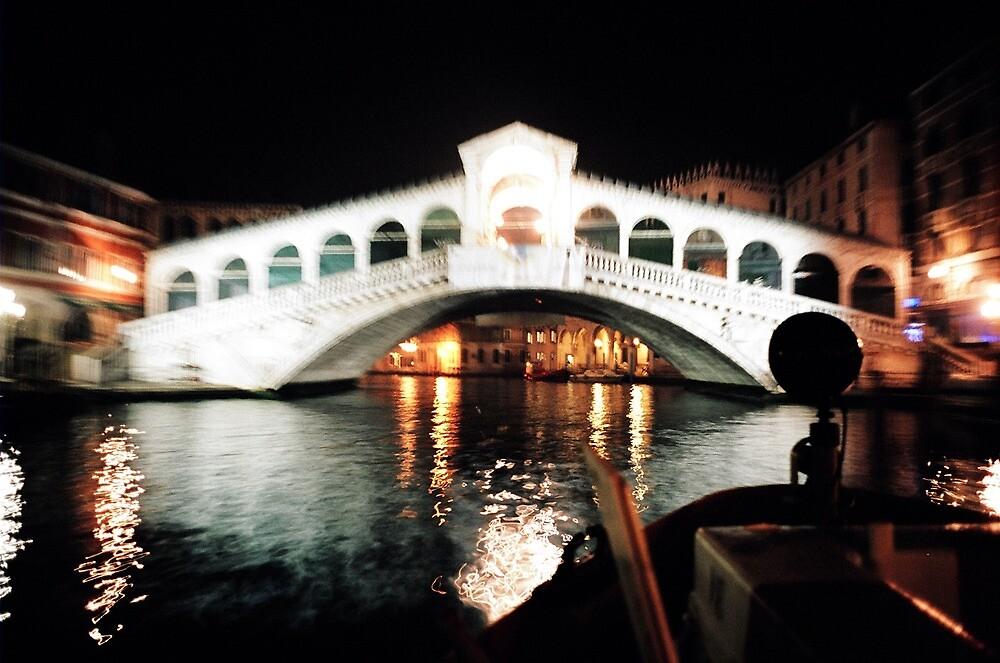 The Rialto Bridge Venice by violetstar