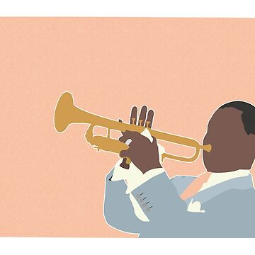 LOUIS ARMSTRONG by barneyrobble