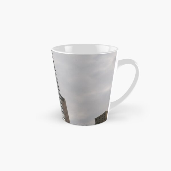 #sky, #architecture, #business, #city, #outdoors, #technology, #modern, #vertical, #colorimage, #NewYorkCity, #USA, #americanculture Tall Mug