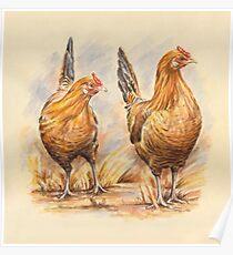Frecsian Fowl Poster