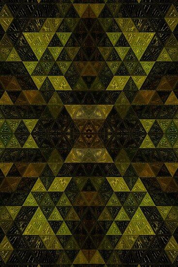 Mosaic Forest by Elvira Draat