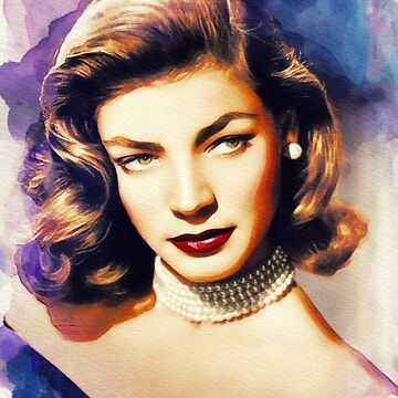 Lauren Bacall, Vintage Hollywood Legend by SerpentFilms