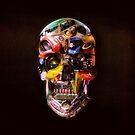 HOT ROD Skull Dark by Ali Gulec