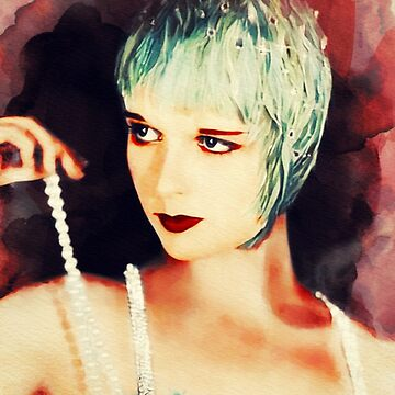 Louise Brooks, Vintage Actress by SerpentFilms