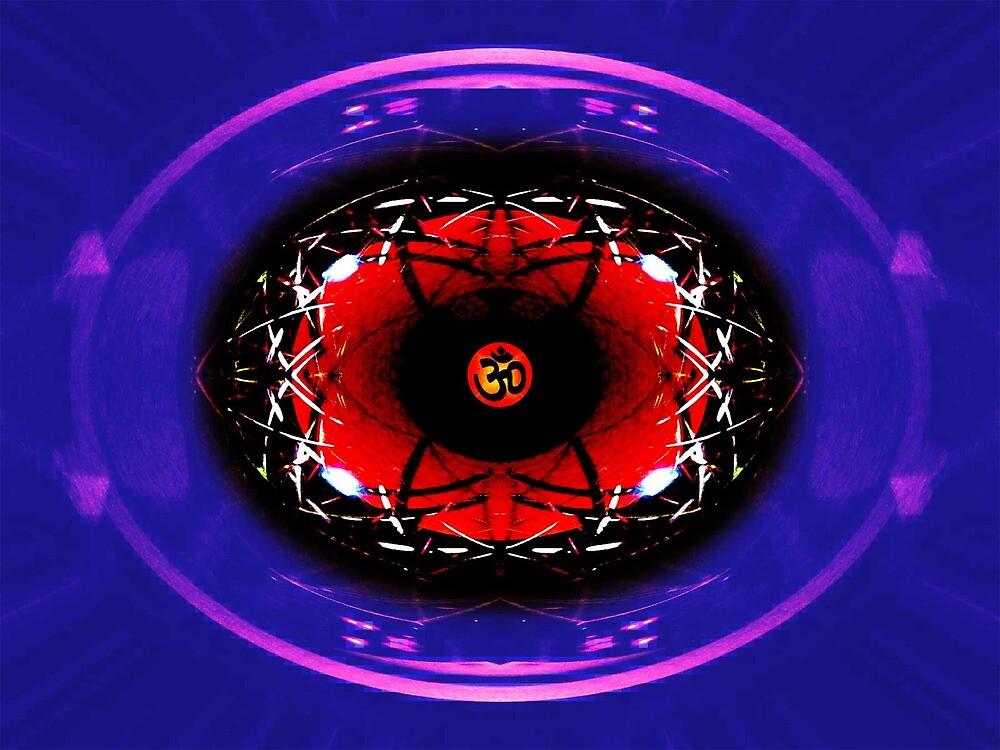 Manic Mandala by LennyG