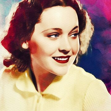 Maureen O'Sullivan, Vintage Actress by SerpentFilms
