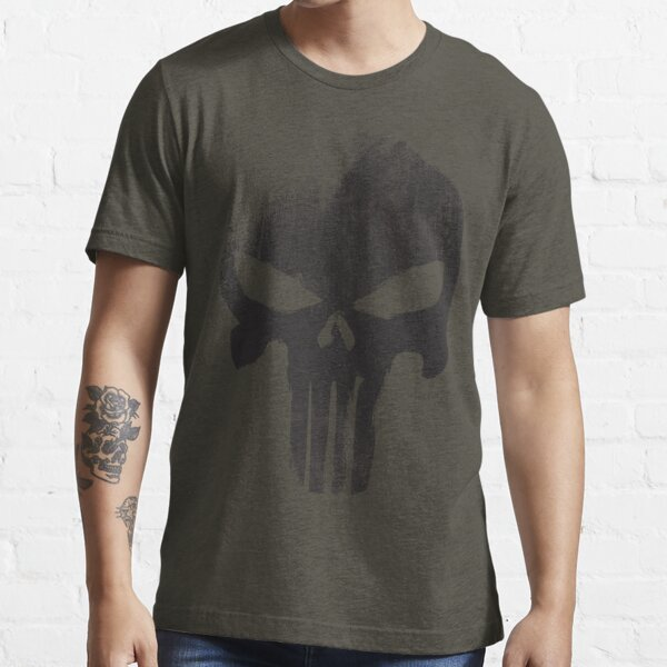 Black Skull Essential T-Shirt