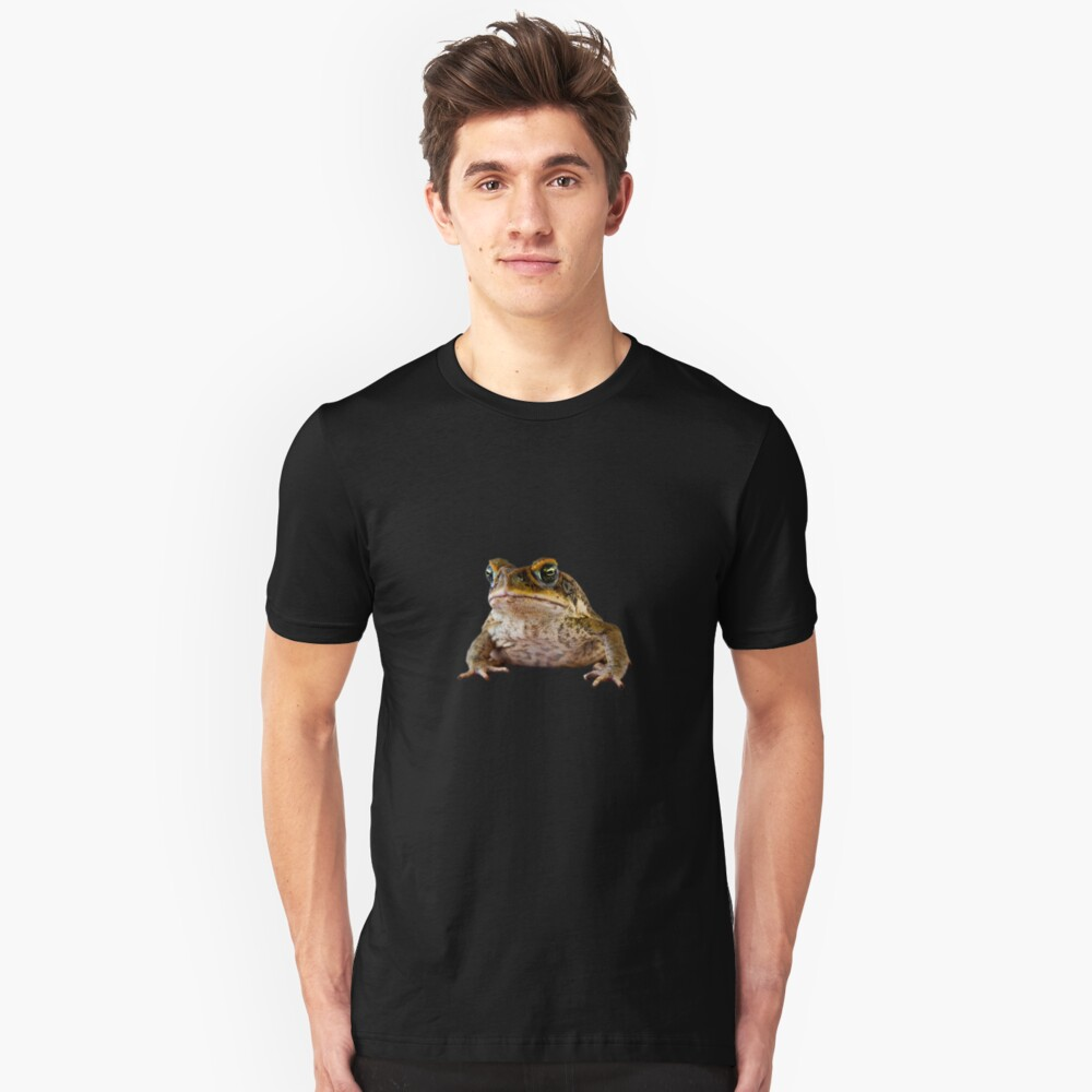 Grumpy Toad Unisex T-Shirt Front
