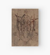 Dread cthulhu - old leather Hardcover Journal