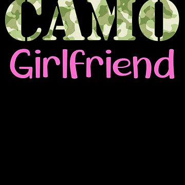 Military Girlfriend Camo Hard Charger Squared Away Military Family Retired or Deployed support troops patriot on Duty serves country by bulletfast