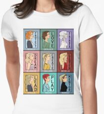 Gillian Anderson's Best Characters Women's Fitted T-Shirt