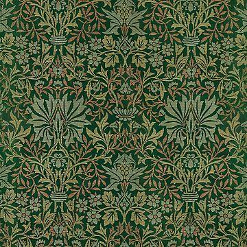 Vintage English Ivy Pattern by jeastphoto