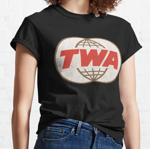 TWA Trans World Airlines USA Classic T-Shirt