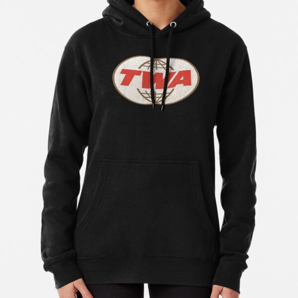 TWA Trans World Airlines USA Pullover Hoodie