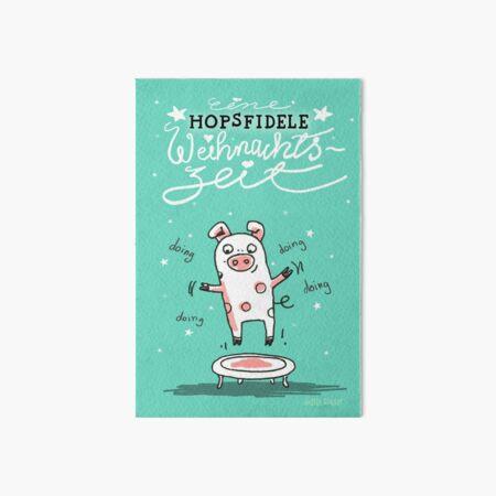 Trampolinschweinchen - Eine HOPSFIDELE Weihnachtszeit Galeriedruck