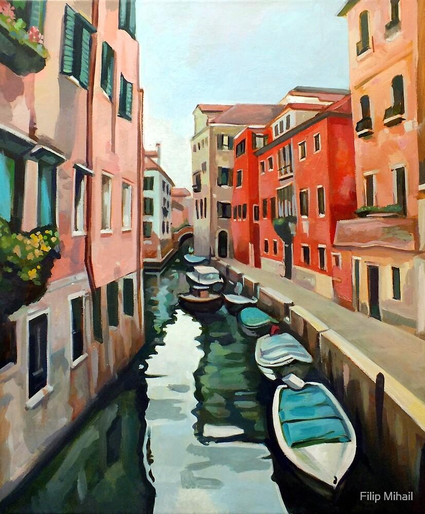Venetian Cityscape by Filip Mihail